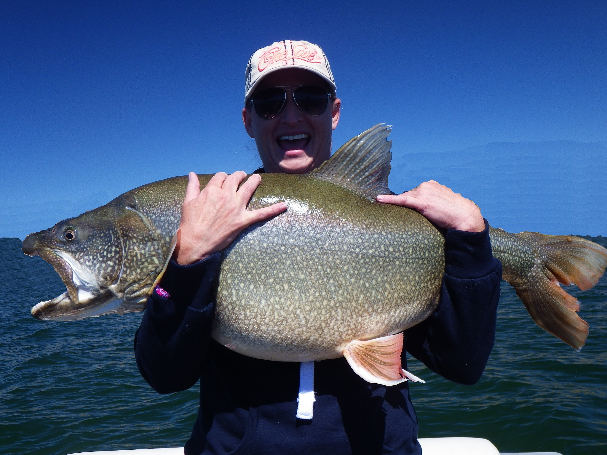 Creative fishing adventures flaming gorge fishing guide for Mackinaw city fishing charters
